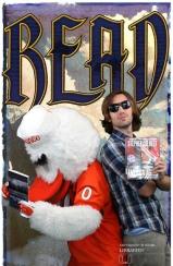 DML employee, Robert Carroll with Sebastian the Ibis